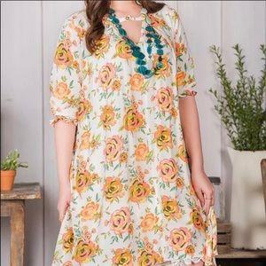 "Matilda Jane ""Sunday Best"" rose floral dress NWT"